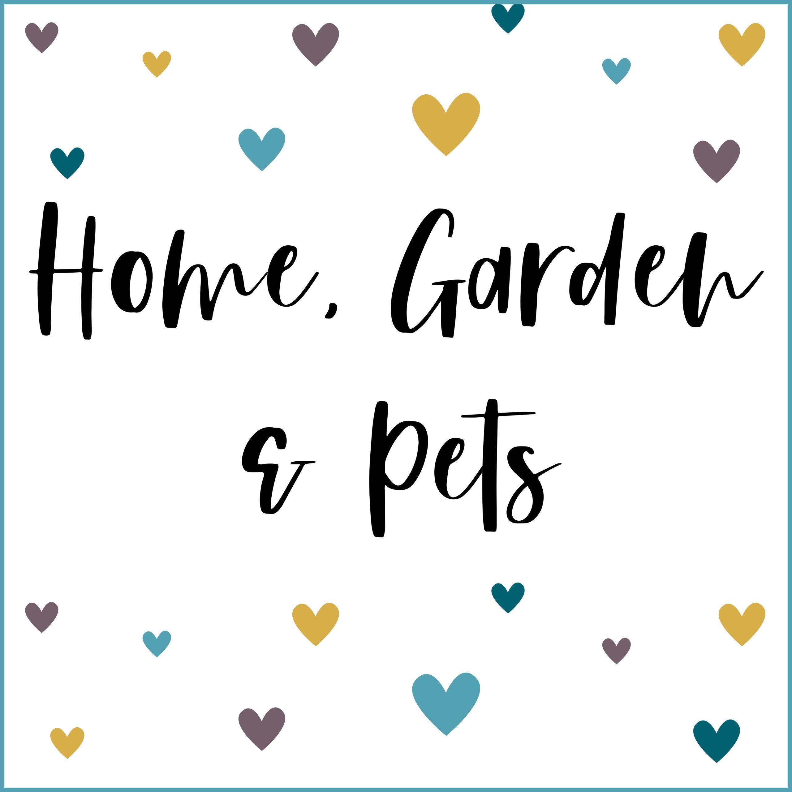 Home, Garden & Pets