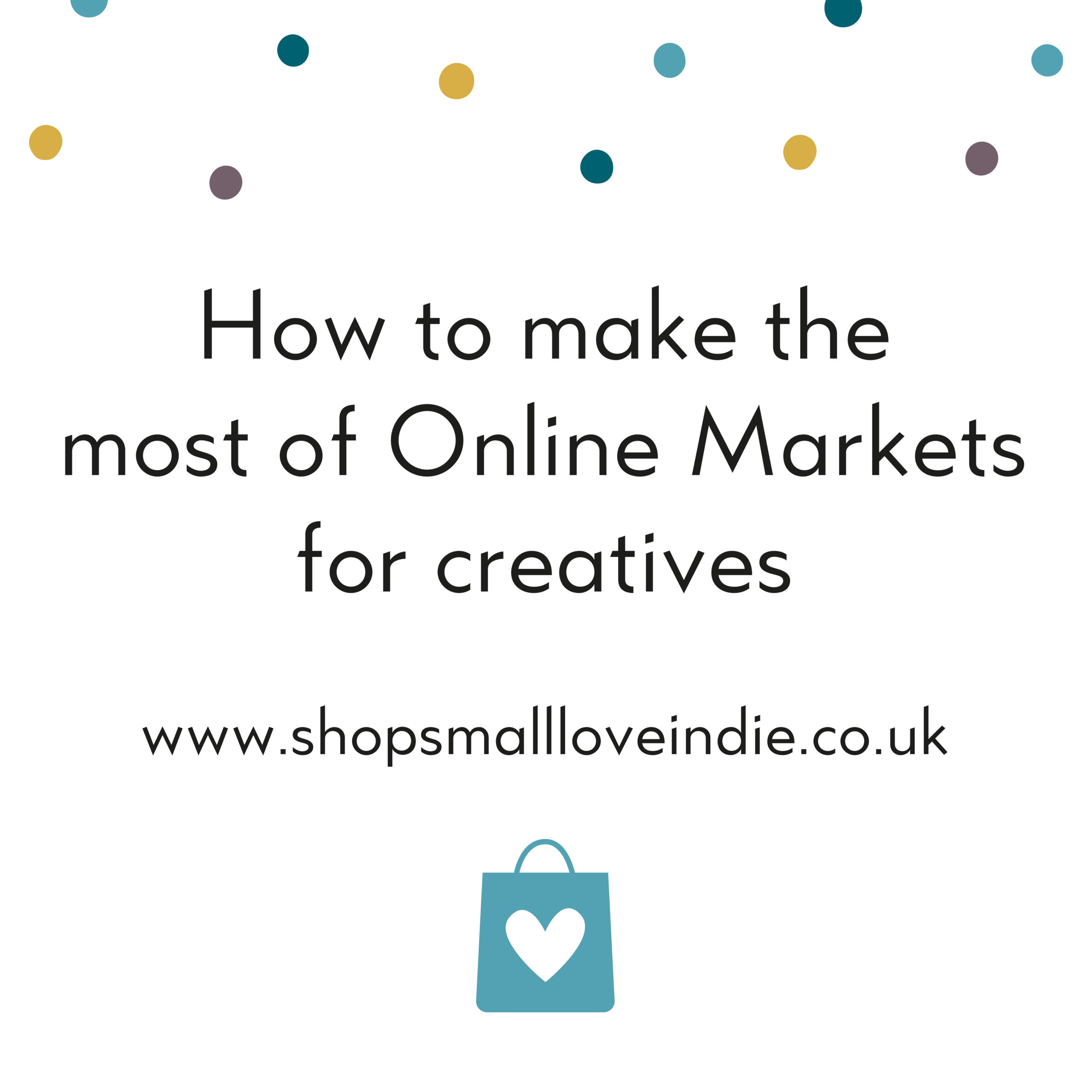 How to make the most of online markets for creatives