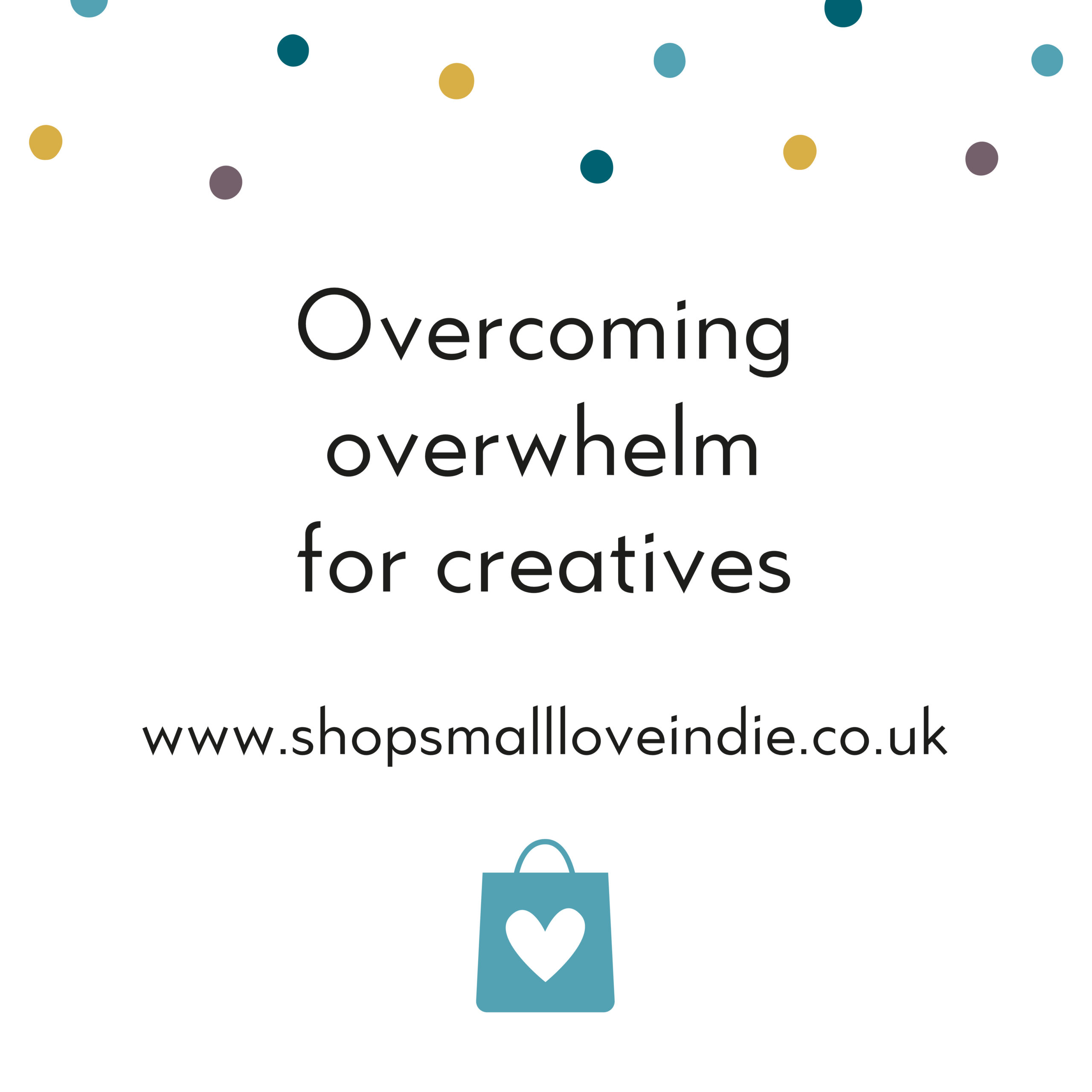 OvercominOverwhelm for creatives