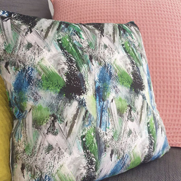 Accessories – 45cm*45cm 100% Velvet Polyester  Cushions £45 Cushions come with filler and cover. They can be filled with the choice of Feather or Hollowfibre fillings.
