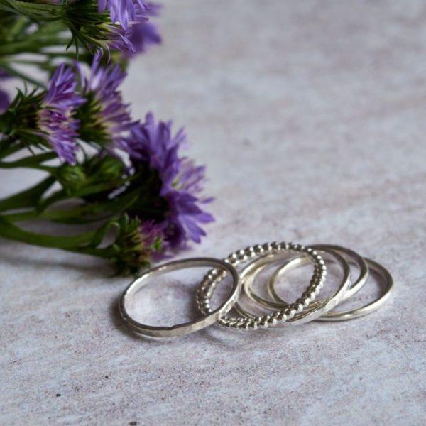 Set of stacking rings